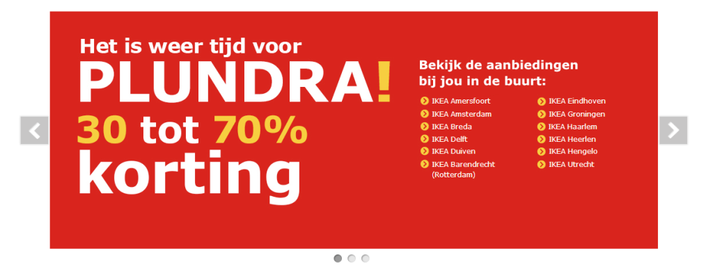 Usability Tips voor roterende banners bij e-commerce
