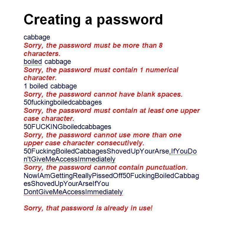 usability en wachtwoorden