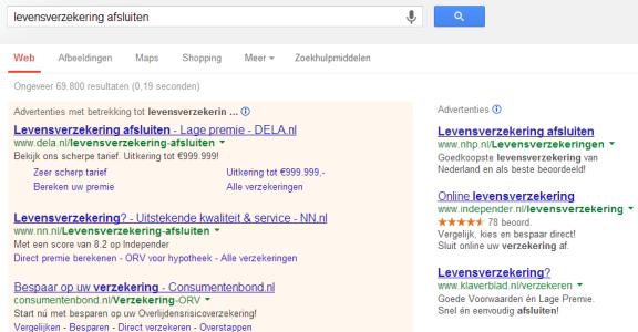 landingspagina -levensverzekering afsluiten - Google zoeken