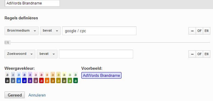 Google Analytics kanaalgroepen
